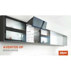 Blum Aventos HF sistema per anta a libro o soffietto. Movimento soft